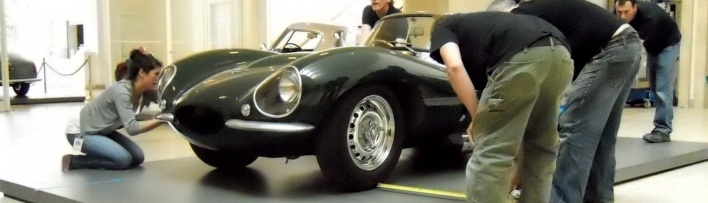 Steve McQueen's Jaguar at the Art of the Automobile